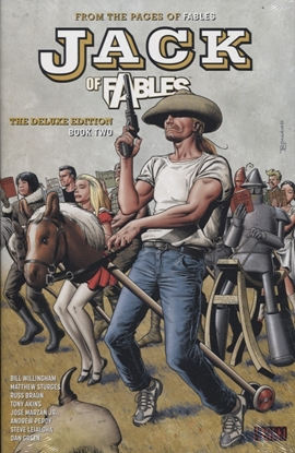 Picture of JACK OF FABLES DELUXE HC BOOK 02 (MR)