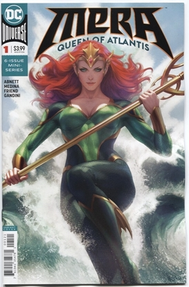 Picture of MERA QUEEN OF ATLANTIS #1 (OF 6) VAR ED
