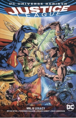 Picture of JUSTICE LEAGUE TP VOL 05 LEGACY REBIRTH