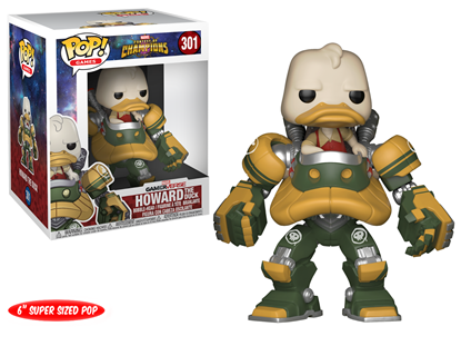 "Picture of FUNKO POP GAMES CONTEST OF CHAMPIONS HOWARD THE DUCK #301 6"" NEW VINYL FIGURE"