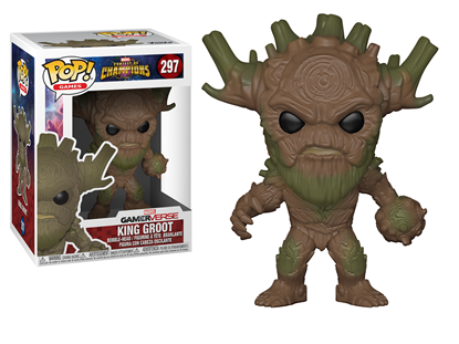 Picture of FUNKO POP GAMES CONTEST OF CHAMPIONS KING GROOT #297 NEW VINYL FIGURE