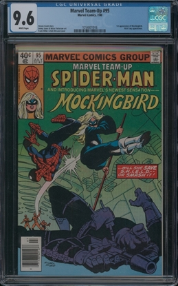 Picture of MARVEL TEAM-UP (1972) #95 CGC 9.6 NM+ WP
