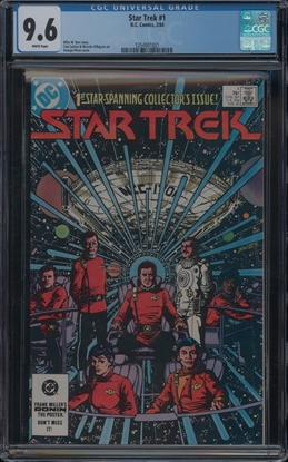 Picture of STAR TREK (1984) #1 CGC 9.6 NM+ WP