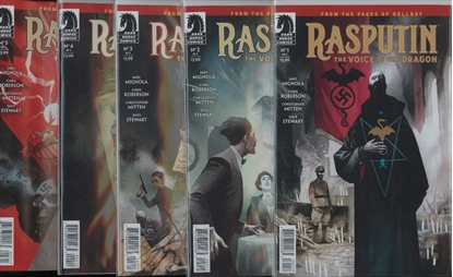 Picture of RASPUTIN VOICE OF DRAGON #1-5 1ST PRINT SET