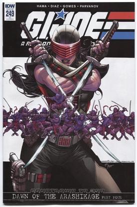 Picture of GI JOE A REAL AMERICAN HERO #249 10 COPY INCV (NET)
