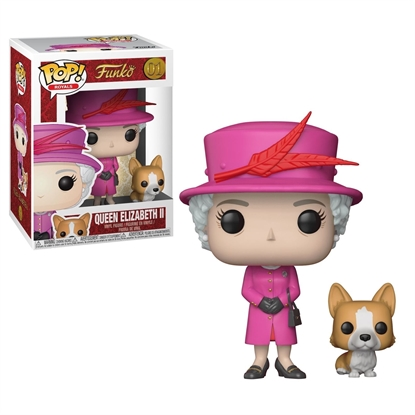 Picture of FUNKO POP ROYALS QUEEN ELIZABETH II #01 NEW VINYL FIGURE