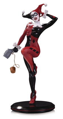 Picture of DC COVER GIRLS HARLEY QUINN BY JOELLE JONES STATUE