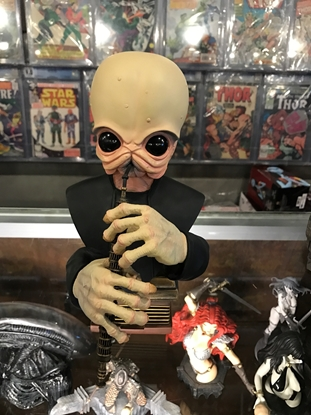 Picture of STAR WARS CANTINA BAND MEMBER BUST 1998