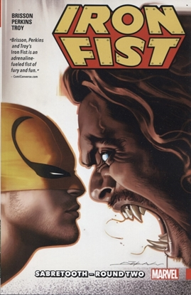 Picture of IRON FIST TP VOL 02 SABRETOOTH ROUND TWO