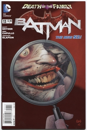 Picture of BATMAN (2011) #13 3RD PRINT CVR 9.0 VF/NM