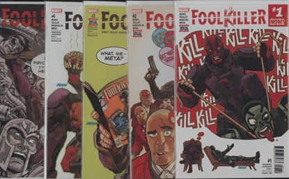 Picture of FOOLKILLER #1 2 3 4 5 1ST PRINT SET NM