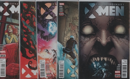 Picture of EXTRAORDINARY X-MEN #13-16 ANNUAL 1 SET