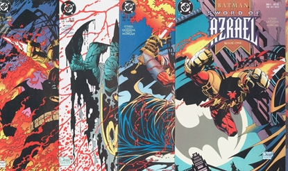Picture of BATMAN SWORD OF AZRAEL #1-4 COMPLETE SET