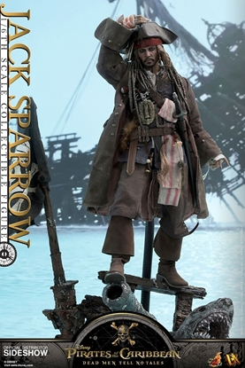 Picture of Jack Sparrow Pirates of the Caribbean: Dead Men Tell No Tales hot toys 1:6