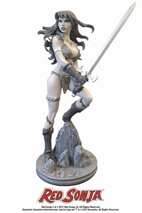 Picture of RED SONJA AMANDA CONNER STATUE BLACK & WHITE