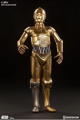 Picture of SIDESHOW C-3PO 1:6 SCALE FIGURE