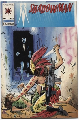 Picture of SHADOWMAN (1992) #1 9.4 NM