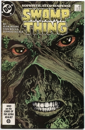 Picture of SWAMP THING (1982) #49 9.4 NM