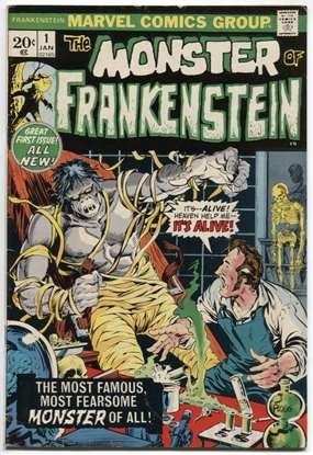 Picture of MONSTER OF FRANKENSTEIN (1973) #1 5.0 VG/FN
