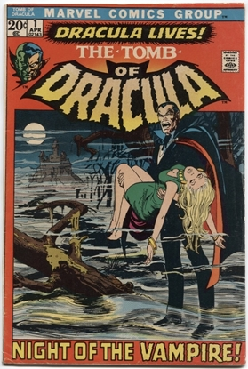 Picture of TOMB OF DRACULA (1972) #1 6.0 FN