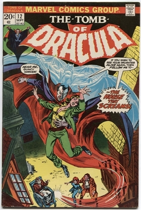 Picture of TOMB OF DRACULA (1972) #12 7.5 VF-
