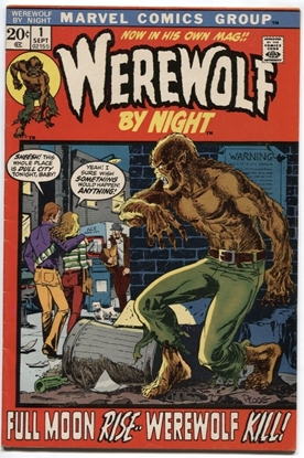 Picture of WEREWOLF BY NIGHT (1972) #1 7.0 FN/VF