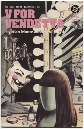 Picture of V FOR VENDETTA #1 9.2 NM-