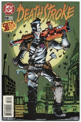 Picture of DEATHSTROKE (1991) #58 9.4 NM