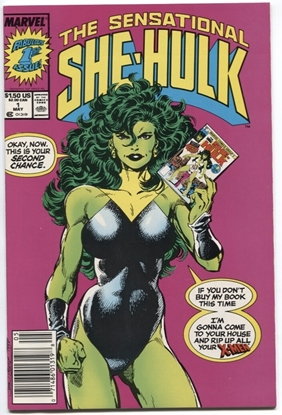 Picture of SENSATIONAL SHE-HULK (1989) #1 9.4 NM