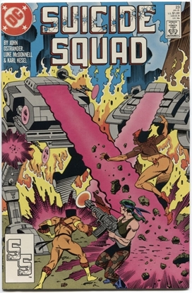 Picture of SUICIDE SQUAD (1987) #23 9.2 NM-