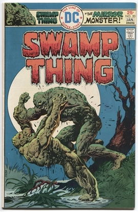 Picture of SWAMP THING (1973) #20 9.0 VF/NM