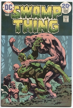 Picture of SWAMP THING (1973) #10 8.5 VF+