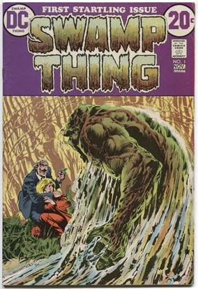 Picture of SWAMP THING (1972) #1 5.0 VG/FN