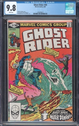 Picture of GHOST RIDER #59 CGC 9.8 NM/MT WP
