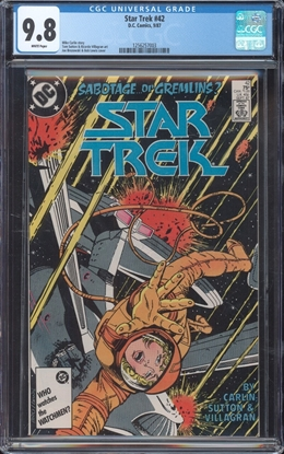 Picture of STAR TREK (1984) #42 CGC 9.8 NM/MT WP