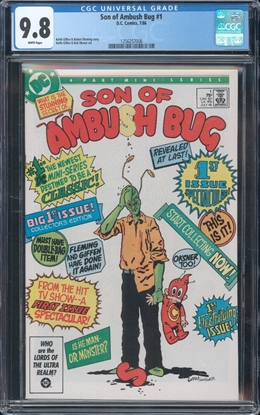 Picture of SON OF AMBUSH BUG (1986) #1 CGC 9.8 NM/MT WP