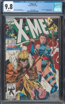 Picture of X-MEN (1991) #6 CGC 9.8 NM/MT WP