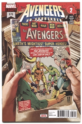 Picture of AVENGERS #676 LEG