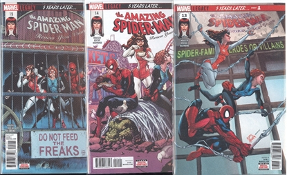 Picture of AMAZING SPIDER-MAN RENEW YOUR VOWS #13-15 SET NM