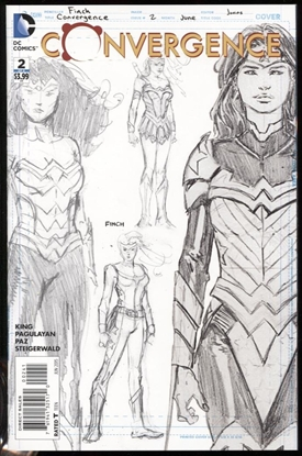 Picture of CONVERGENCE #2 1:100 WONDER WOMAN VARIANT COVER