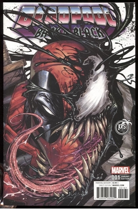 Picture of DEADPOOL BACK IN BLACK #1 KIRKMAN COLOR VARIANT COVER