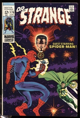 Picture of DOCTOR STRANGE (1968) #179 8.5 VF+