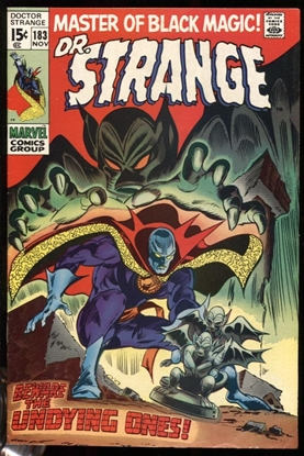 Picture of DOCTOR STRANGE (1968) #183 8 VF WP (1021)