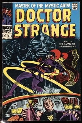 Picture of DOCTOR STRANGE (1968) #175 8.0 VF OWW