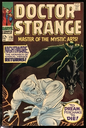 Picture of DOCTOR STRANGE (1968) #170 8.5 VF+ OWW (1015)