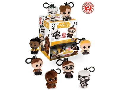 Picture of FUNKO STAR WARS-HAN SOLO MYSTERY MINI PLUSHIE KEYCHAIN