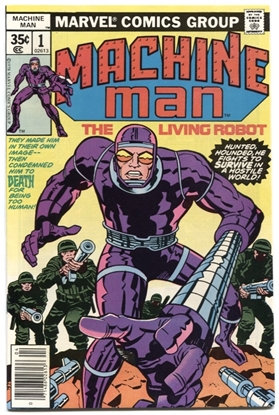Picture of MACHINE MAN (1978) #1 9.4 NM