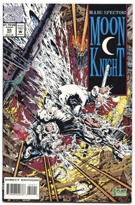 Picture of MARC SPECTOR MOON KNIGHT (1989) #55 9.4 NM WP (1635)