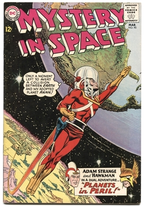 Picture of MYSTERY IN SPACE(1951) #90 7 FN/VF COW (1636)