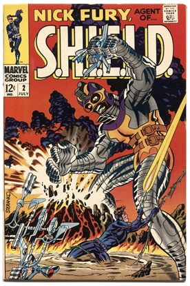 Picture of NICK FURY AGENT OF SHIELD (1968) #2 8.5 VF+